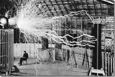 Nikola Tesla-Magnifying Transmitter