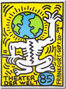 Theater der Welt by Keith Haring, 1985