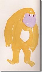 empty obverse ape